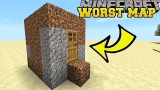 Video Minecraft: THE WORST MINECRAFT MAP EVER?! - BAD MAP - Custom Map MP3, 3GP, MP4, WEBM, AVI, FLV November 2018