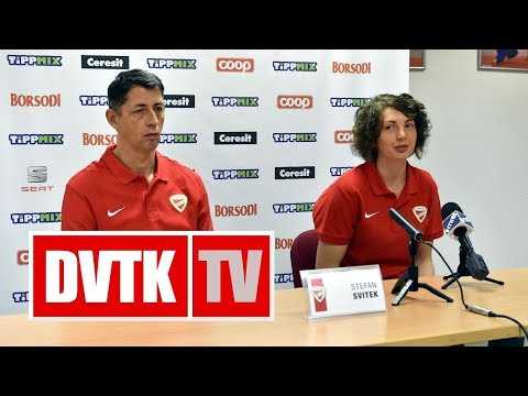 Sajtótájékoztató a PEAC - Aluinvent DVTK Európa Kupa mérkőzés előtt