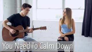 You Need To Calm Down by Taylor Swift | cover by Kyson Facer & Jada Facer