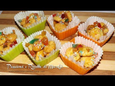 dolci di carnevale: struffoli al forno - la video ricetta