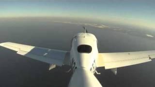 GOPRO HERO HD SR-20 Flight With Open Door Flight Test With CVR