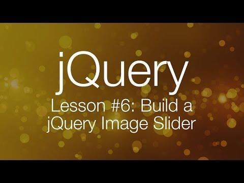 jQuery Tutorial #6 – Building a jQuery Image Slider