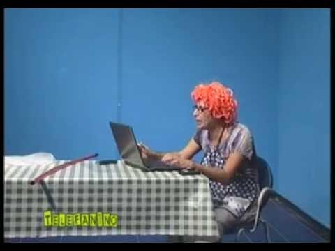 la signora titina e il computer!