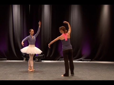 Watch: <em>The Sleeping Beauty</em> in rehearsal