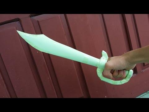 Comment faire une épée de pirate utilisant du papier | produits créatifs