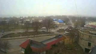 Перекрёсток в Щёлкино, 29.01.2013 - time-lapse с камеры 2