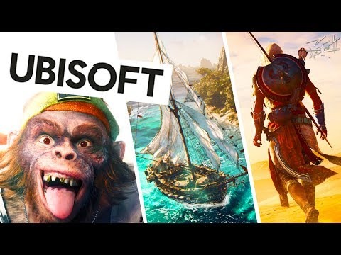 Конференция Ubisoft - E3 2017 - Beyond Good and Evil 2, AC: Origins,  Crew 2, Mario + Rabbids