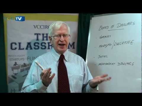 The Classroom Show -- Episode 4 -- Understanding key duties of the Board of Directors