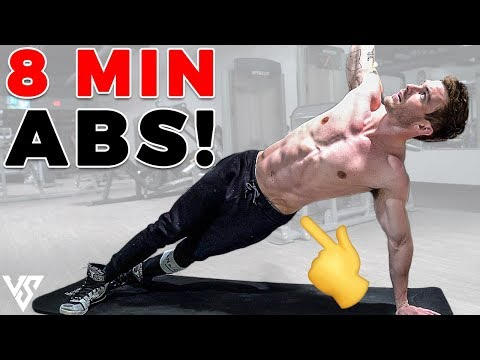 8 Minute Abs Workout to Get a Six Pack
