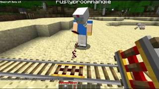 Minecraft 1.5 - powered rails, detector rails and EXPLODING SHEEP