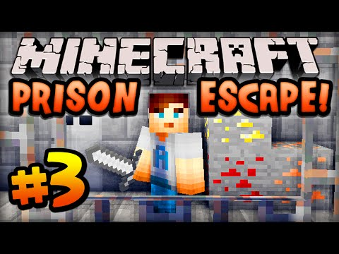 "Minecraft PRISON ESCAPE – Episode #3 w/ Ali-A! – ""MY NEW CELL!"""