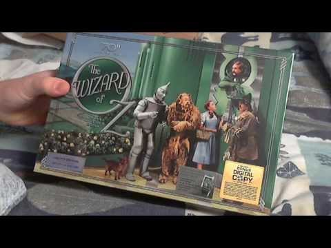 The Wizard Of OZ Ultimate Collector's Edition 70th Anniversary DVD Unboxing