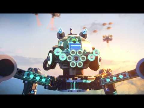 Конструктор BELA «Водяной робот» 10717 (Аналог LEGO 70611), 518 деталей