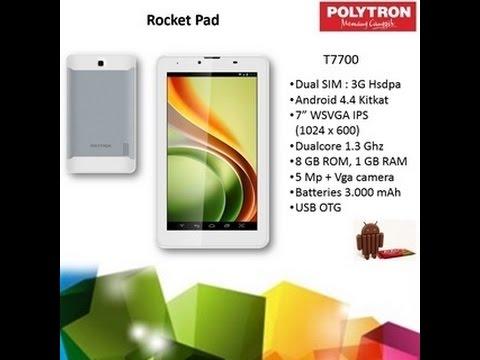 Unboxing Polytron T7700 Rocket Pad 7