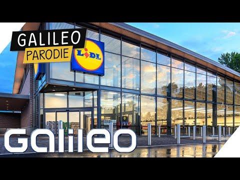 Der modernste LIDL der WELT | Galileo | Prosieben Parodie 8