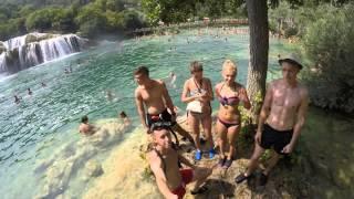 Makarska Croatia  City new picture : Croatia Makarska holiday 2015 GoPro Hero 4 Black by Matt 4k