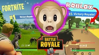 VICTORY ROYALE!!!! | ROBLOX FORTNITE ISLAND ROYALE