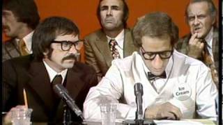 Bob Einstein and Sonny Bono spoof the Watergate hearings. 