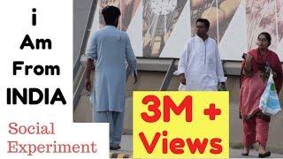 Video I AM FROM INDIA | Social Experiment in Pakistan MP3, 3GP, MP4, WEBM, AVI, FLV September 2018