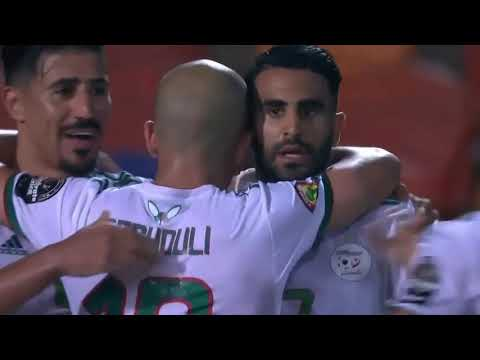 algeria vs nigeria 2 - 1 highlights all goals africa cup of nations 2019