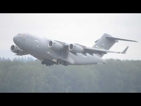 A nice Dover C-17 heading off to...