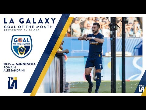 Video: Romain opens the score | Goal of the Month - presented by 76 Gas