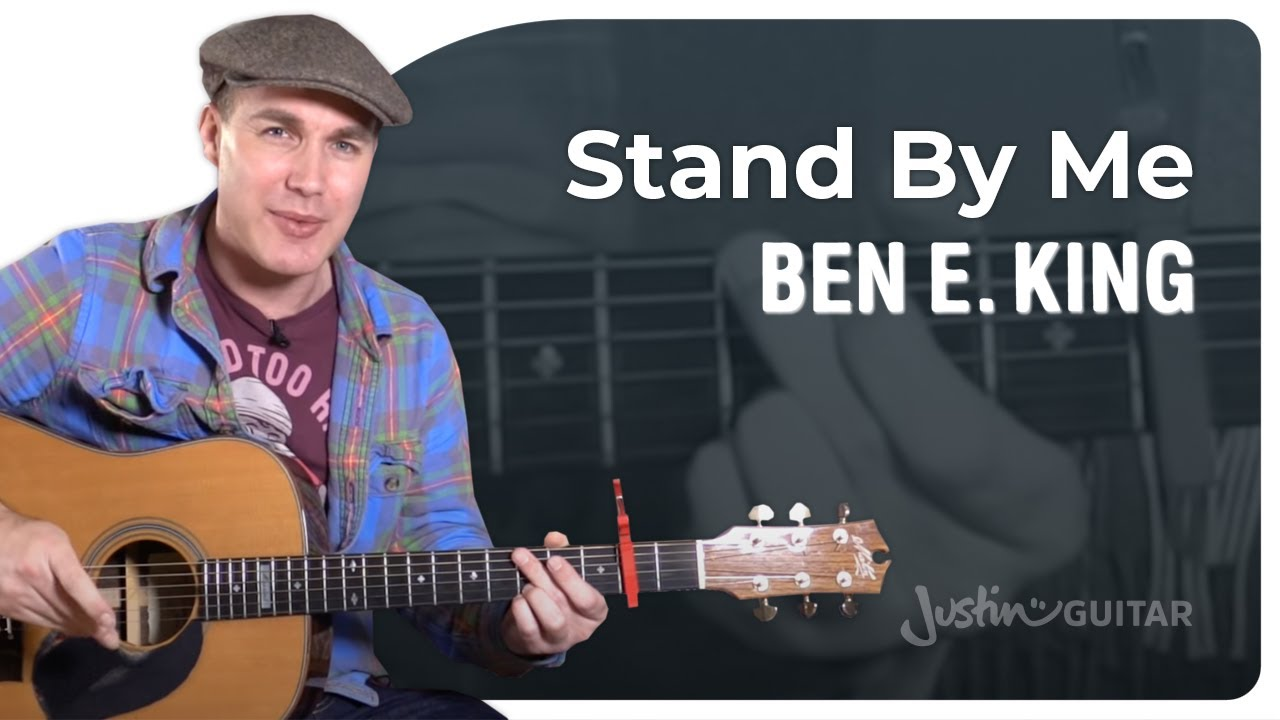 Stand By Me – Ben E King – Easy Beginner Song Guitar Lesson Tutorial (XX-123)
