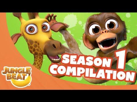 Jungle Beat Season One Compilation [Full Episodes]