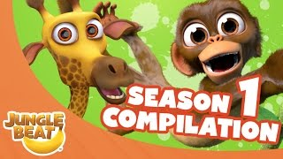 Video Jungle Beat Season One Compilation [Full Episodes] MP3, 3GP, MP4, WEBM, AVI, FLV September 2018