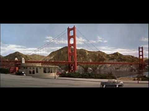 BATTLE IN OUTER SPACE [1959] Golden Gate Bridge Destruction scene BUT with Half-Life SFX