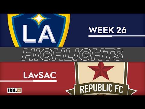 LA Galaxy 2 - Сакраменто Репаблик 1:0. Видеообзор матча 01.09.2019. Видео голов и опасных моментов игры