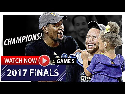 Kevin Durant & Stephen Curry EPIC Game 5 Highlights vs Cavaliers 2017 Finals - 73 Pts, BROTHERHOOD!
