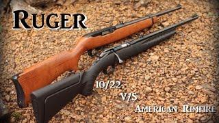 Ruger 10/22 vs American Rimfire review