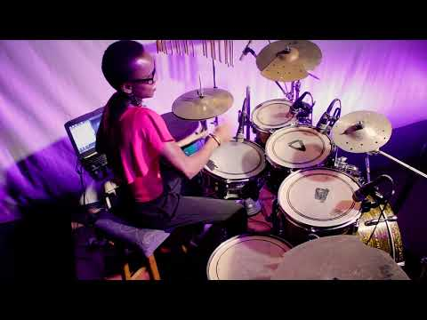 Kos'Oba Bire By Psalmos Featuring Tope Alabi #Topsticks #drummergirl #drumcover