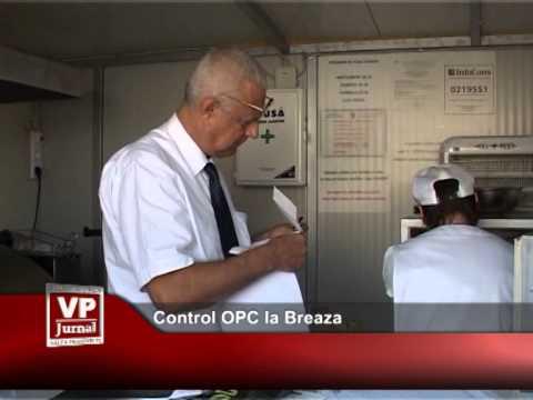 Control OPC la Breaza