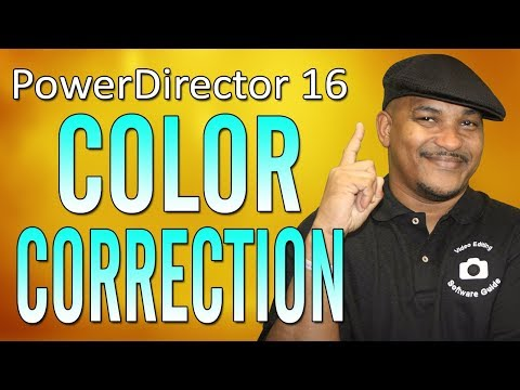 How to Color Correct Your Videos | CyberLink PowerDirector 16 - Workflow Series #4