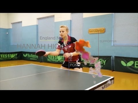 HANNAH HICKS AEROBIC TABLE TENNIS