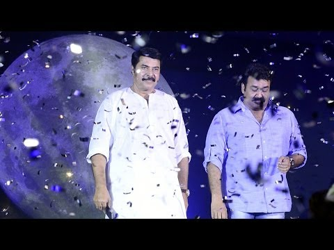 mohanlal - Honoring Mammooty and Mohanlal on the occassion of Celluloid Mega event organised by Manorama Online.