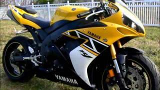 10. 2006 Yamaha YZFR1 50th Anniversary stock #9-3209