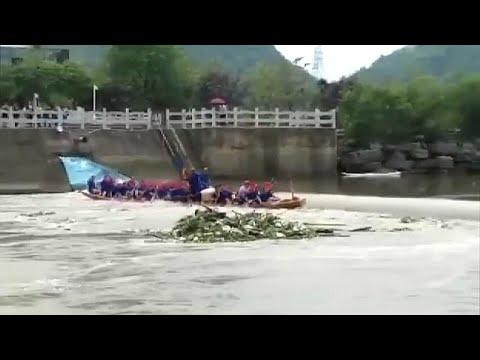 Tödlicher Unfall mit chinesischen Drachenbooten