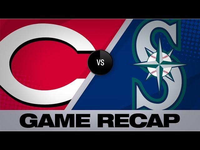 Lo mas relevante del juego  Reds-Mariners Jays del  11/9/19