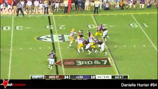Danielle Hunter vs Mississippi State (2014)