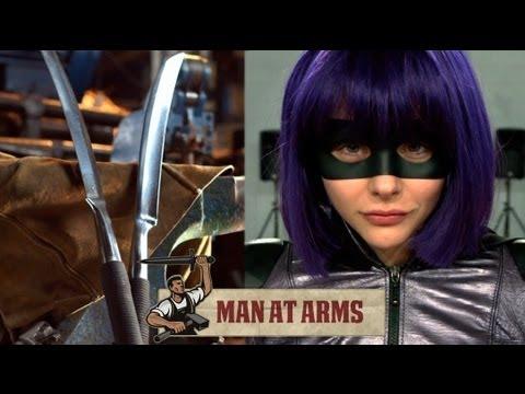 超殺女的武器刀被真實打造出來!