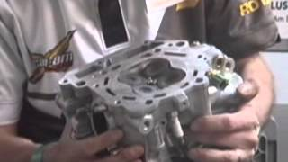 8. Can Am DS450 Rotax Engine