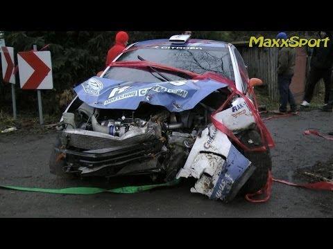 1 Rajd Arłamów 2014 - Action & Crash by MaxxSport