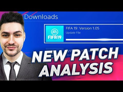 FIFA 19 NEW PATCH 1.05 IS LIVE !! WHAT HAS ACTUALLY CHANGED In THE GAMEPLAY !!!