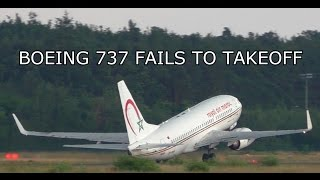 Nonton Passenger Aircraft Fails To Takeoff  Boeing 737 Near Tail Strike   Stall On Takeoff Film Subtitle Indonesia Streaming Movie Download