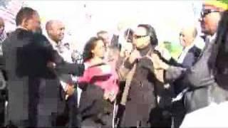 Sen Connie Johnson Addressing Protesters
