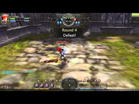 Dragon Nest: Gladiator vs Guardian PvP