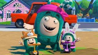 Video Oddbods - 奇宝萌兵 - Funny Cartoon Compilation MP3, 3GP, MP4, WEBM, AVI, FLV Januari 2019